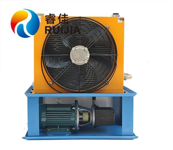 双层独立循环液压油冷却器