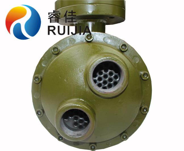 非标定做8寸列管式水冷却器