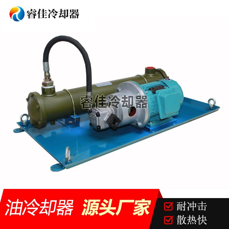 液压油水冷却器BS-415独立循环系统